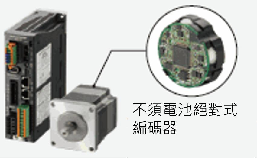 東方馬達 Oriental motor _ ABZO 編碼器的步進馬達組合產品