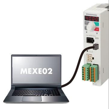 東方馬達 oriental motor BLEII 無刷馬達 資料設定軟體 MEXE02*